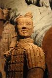 陶砖土地战士 图库摄影