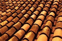 陶砖西班牙语土地 免版税库存照片