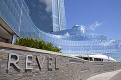 陶醉赌博娱乐场在大西洋城 库存图片