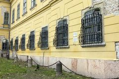 陶陶的Esterhazy宫殿 库存照片