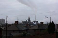 陶陶钢铁生产厂 库存照片