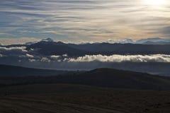 隆基迈火山 库存图片