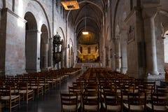 隆德内部大教堂  免版税图库摄影