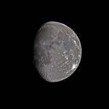 隆起月亮打蜡 库存图片