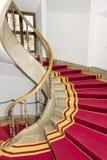 隆重。 楼梯间在波兰宫殿。 皇家城堡在华沙。 库存图片
