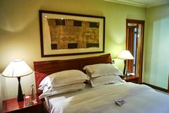 随员看法豪华旅馆arabella国家庄园俱乐部的 库存图片