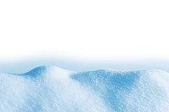 随风飘飞的雪 库存图片