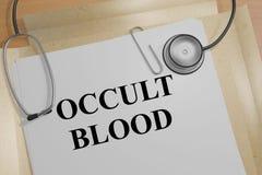 隐密血液概念 图库摄影