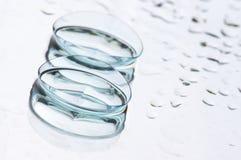 隐形眼镜 免版税库存照片