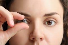 隐形眼镜 免版税库存图片