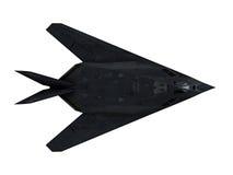 隐形飞机 免版税库存图片