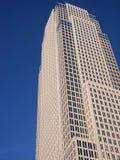 隐约地出现的摩天大楼 库存照片