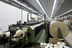 隐约地出现纺织品 图库摄影