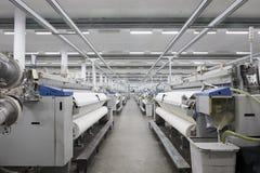 隐约地出现纺织品 免版税图库摄影