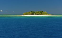 隐藏海岛 库存照片