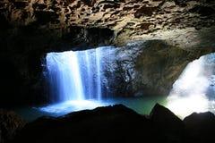 隐藏的洞穴 库存图片
