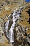 隐藏的瀑布在中央巴尔干国家公园,保加利亚 免版税库存图片