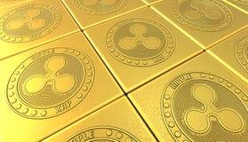 隐藏货币 隐藏货币采矿在计算机上的 库存照片