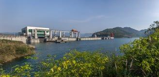 隔河岩水力发电项目 免版税库存图片