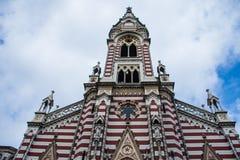 隔离的大教堂 免版税库存照片