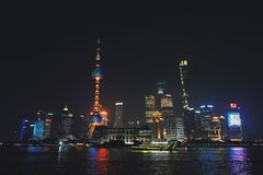 障壁上海中国 免版税库存照片