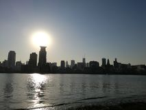 障壁上海 库存图片