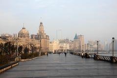障壁在上海,中国 免版税库存图片