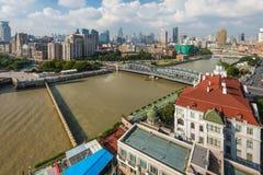 障壁视图-上海,中国 免版税库存照片