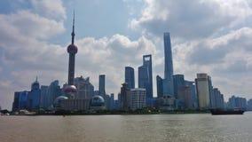 `障壁`在上海,中国 免版税库存图片