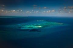 障碍岩礁极大的海公园礁石upolu 免版税图库摄影