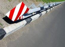 障碍路安全运输 库存照片