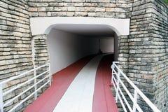 隧道入口 免版税库存照片
