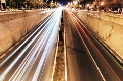 隧道出口 免版税库存照片