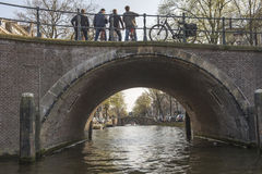 隧道反射阿姆斯特丹荷兰 库存图片
