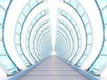 隧道未来派戏弄 向量例证