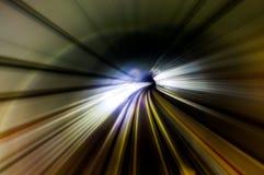 隧道条纹 库存照片