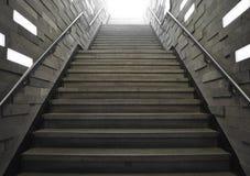 隧道楼梯 免版税库存图片