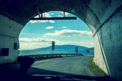 隧道的末端 免版税库存图片