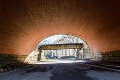 隧道视图 免版税库存图片