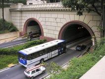 隧道诺韦de Julho 库存照片