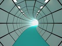隧道, 3D 免版税库存图片