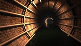 隧道(圈) 股票视频