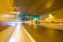 隧道Blanka 免版税库存图片