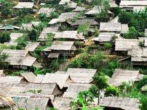 难民营 库存图片