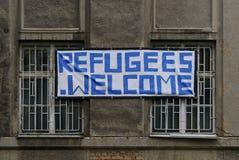 难民风雨棚 免版税库存照片