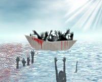 难民 免版税图库摄影