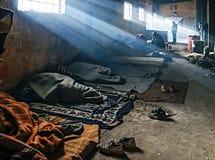 难民 库存图片