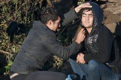 难民 免版税库存图片