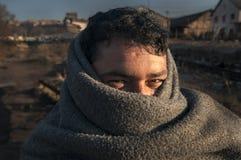 难民 图库摄影