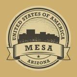 难看的东西不加考虑表赞同的人或标签与Mesa,亚利桑那的名字 向量例证